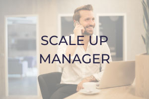 vacature Scale up manager